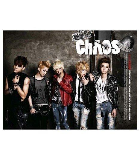 ChAOS (카오스) - ChAOS 1st Mini Album (édition coréenne) (Poster offert*)