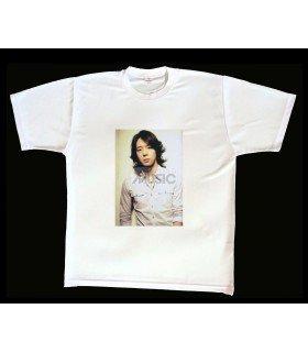 T-shirt Photo Yuchun (JYJ) 002 (Taille unique)