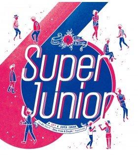 Super Junior (슈퍼주니어) Vol. 6 Repackage Album - SPY (édition coréenne)