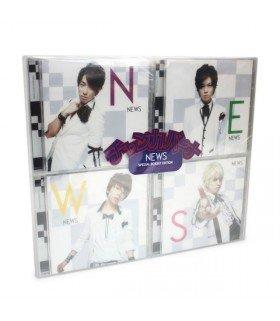 NEWS - Chankapana (4SINGLE+DVD) (édition limitée japonaise)