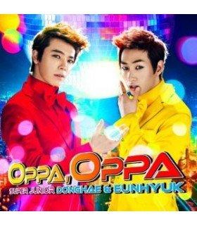Super Junior - Donghae & Eunhyuk - Oppa, Oppa (éditon taiwanaise)