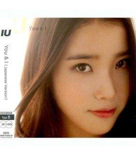 IU (아이유) You & I -  TYPE-B ( CD+DVD ) (édition japonaise)