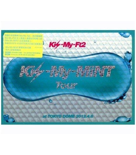Kis-My-FT2 - Kis-My-Mint Tour (TOKYO DOME 2012) (CD+2DVD) (édition taiwanaise)