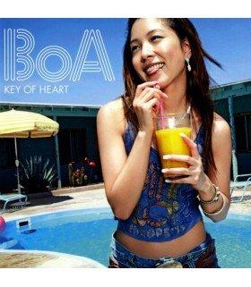 BoA - KEY OF HEART (CD+DVD) (édition coréenne)