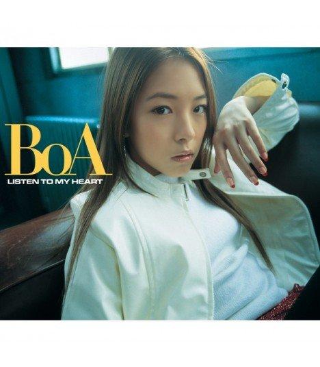 BoA - LISTEN TO MY HEART (édition coréenne)