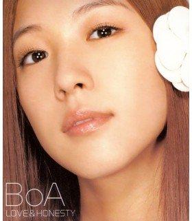 BoA - Love & Honesty (édition coréenne)