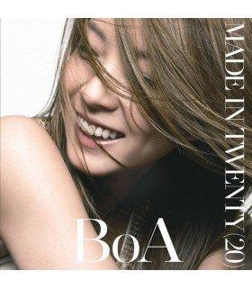 BoA - MADE IN TWENTY (20) (CD+DVD+CARTE POSTALE) (édition coréenne)