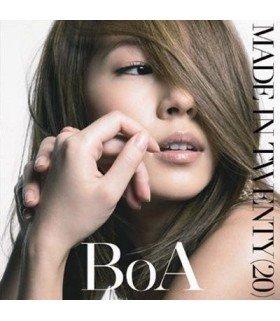 BoA - MADE IN TWENTY (20) (CD+CARTE POSTALE) (édition coréenne)