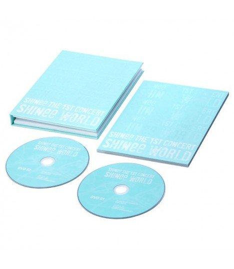 SHINee (샤이니) - THE 1ST CONCERT IN SEOUL SHINEE WORLD (2 DVD+Photobook) (édition coréenne)