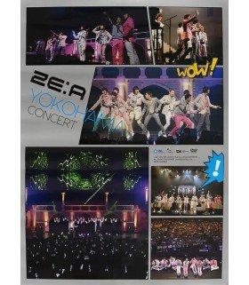 Affiche officielle - ZE:A - Yokohama Concert
