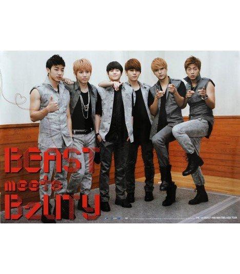 Affiche officielle - BEAST - The 1st BEAST Fan Meeting Asia Tour