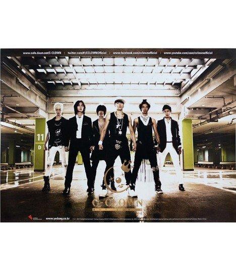 Affiche officielle - C-CLOWN Mini Album Vol. 1 - Not Alone