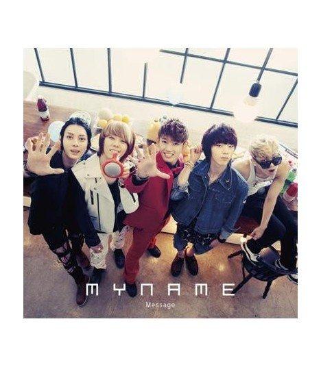 MYNAME - Message (Type-A)(CD+DVD)(Version Japonaise) (édition japonaise)