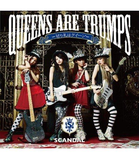 SCANDAL - QUEENS ARE TRUMPS (édition japonaise)