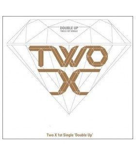 Two X (투엑스) 1st Single Album - Double Up (édition coréenne)