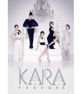 Affiche officielle - Kara Mini Album Vol. 5 - Pandora