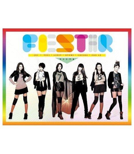 Fiestar (피에스타) Single Album Vol. 1 - Debut single (édition coréenne) (Poster offert*)
