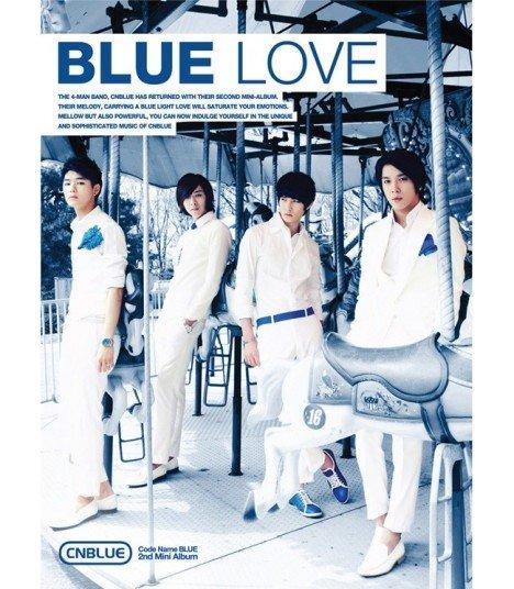 CNBLUE 2nd Mini Album - Bluelove