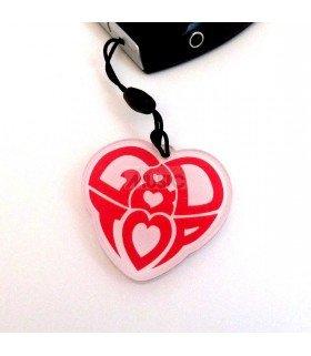 Strap en acrylique GD & TOP 002