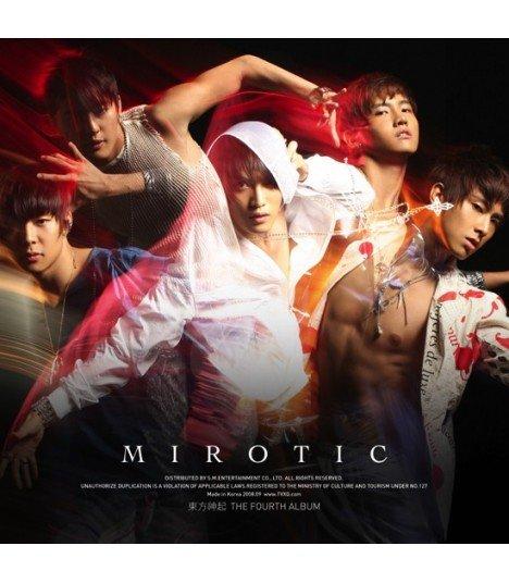 Dong Bang Shin Ki Vol. 4 - Mirotic (CD+Photobook)(Coréen Version A)
