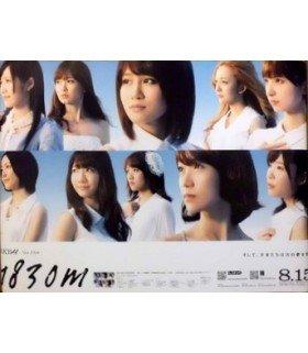 """Affiche officielle AKB48 album """"1830m"""" (import Japon)"""
