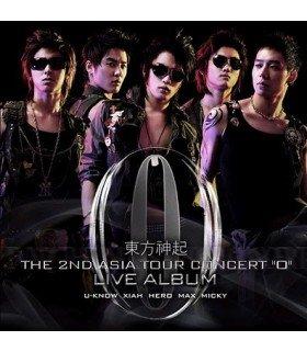 Dong Bang Shin Ki - The 2nd Asia Tour Concert 'O'  (édition coréenne)