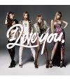 2NE1 - I LOVE YOU (SINGLE+DVD) (édition japonaise)