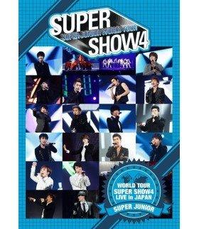 Super Junior - SUPER JUNIOR WORLD TOUR SUPER SHOW4 LIVE in JAPAN (édition japonaise)