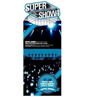 Super Junior - SUPER JUNIOR WORLD TOUR SUPER SHOW4 LIVE in JAPAN (2DVD) (édition japonaise)