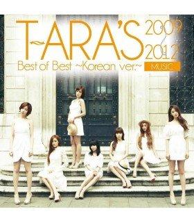 T-ara - T-ARA's Best of Best 2009-2012 - Korean ver.- (édition japonaise)