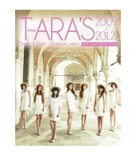 T-ara - T-ARA's Best of Best 2009-2012 - Korean ver.- (ALBUM + CLIPS) (édition japonaise)