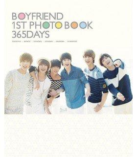 Boyfriend (보이프렌드) 1st Photobook - 365 Days (Photobook + DVD + Poster*) (édition coréenne)