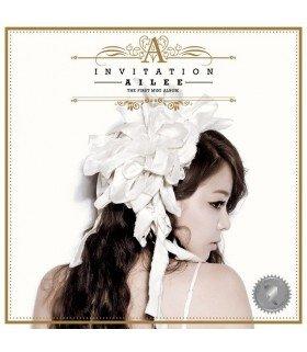 Ailee (에일리) Mini Album Vol. 1 - Invitation (édition coréenne)
