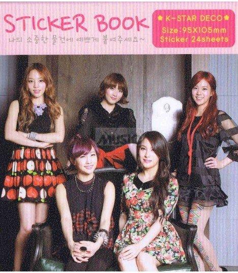 Sticker Book TVXQ 001