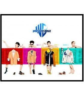Wonder Boyz (원더보이즈) Mini Album Vol. 1 (édition coréenne)