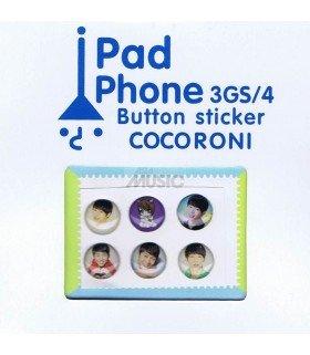 Button Sticker Iphone EXO 001