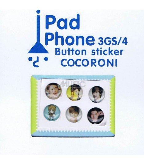 Button Sticker Iphone TVXQ 001