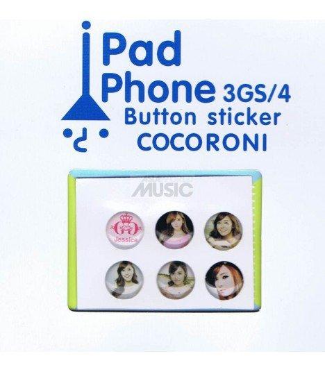 Button Sticker Iphone Taeyeon - Girls' Generation (SNSD) 001