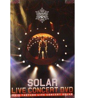 Affiche officielle 2010 Taeyang Solar Concert