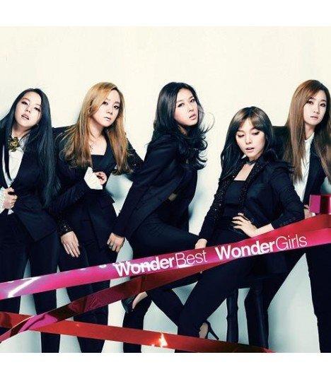 Wonder Girls - WONDER BEST KOREA/U.S.A/JAPAN 2007-2012 (édition normale japonaise)