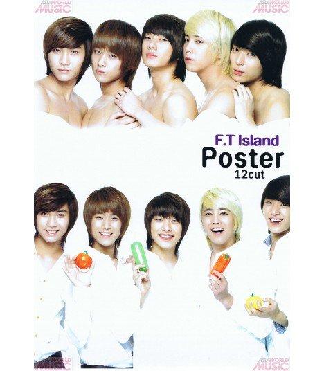 Pack 12 Posters FTIsland 001