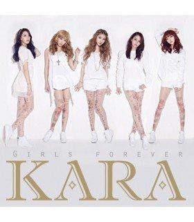 Kara - Girls Forever (Type A) (ALBUM + DVD) (édition limitée japonaise)