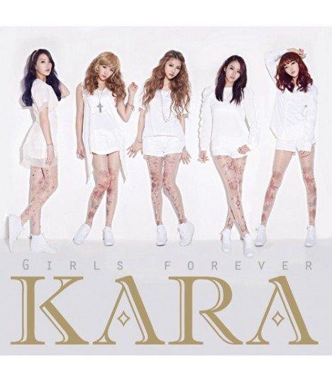 Kara - Girls Forever (Type B) (ALBUM + PHOTOBOOK) (édition limitée japonaise)