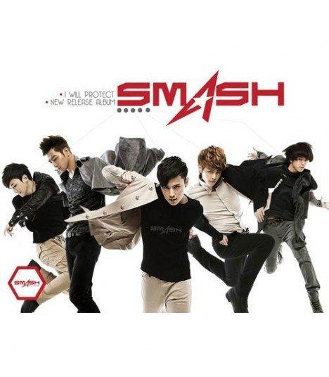 Smash (스매쉬) Mini Album - I Will Protect (édition coréenne) (Poster offert*)