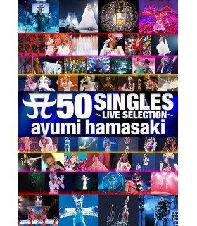 Ayumi Hamasaki - A 50 SINGLES -LIVE SELECTION- (édition japonaise)