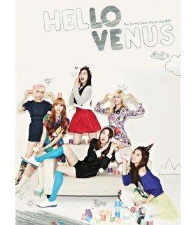 Hello Venus (헬로비너스) Mini Album Vol. 2 - What Are You Doing Today ? (édition coréenne)
