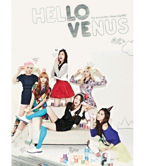 Hello Venus (헬로비너스) Mini Album Vol. 2 (édition coréenne)