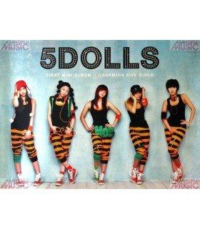 Affiche Officielle 5DOLLS Mini Album Vol. 1