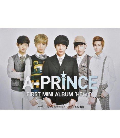 Affiche officielle A-Prince Mini Album Vol. 1 - Hello