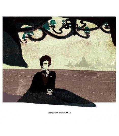 Jung Yup (정엽) Vol. 2 Part II - No more us (édition coréenne)